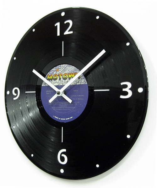 LP Clock by Jeff Davis - © Blue Pomegranate Gallery