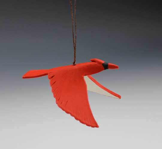 Cardinal Ornament by Beth DiCara