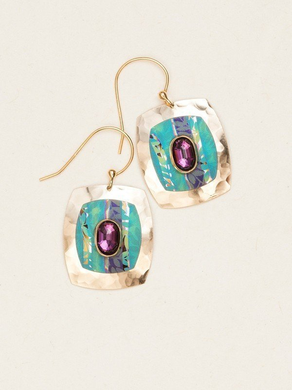 Turquoise Marribel Earrings by Holly Yashi
