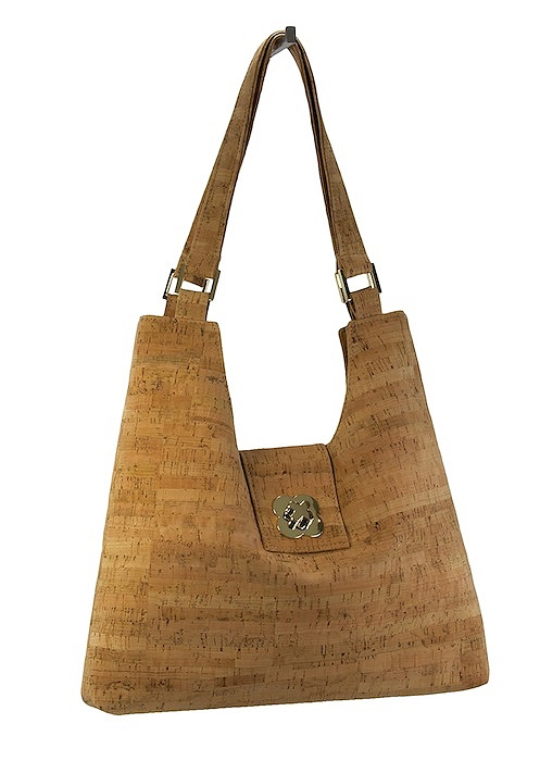 Be Classic Cork Shoulder Bag - Natalie DiBello - © Blue Pomegranate Gallery
