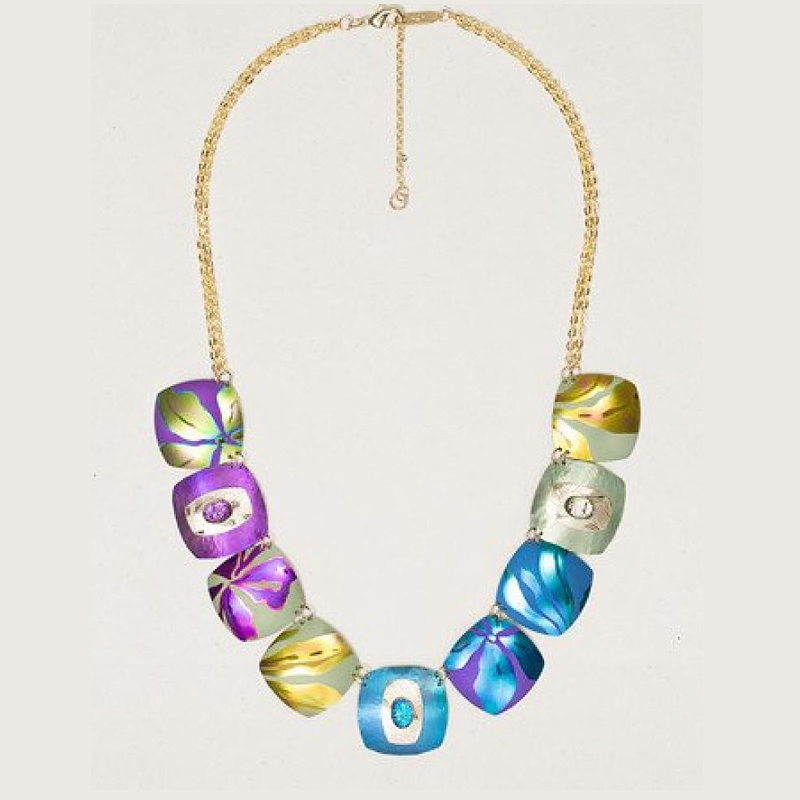 Multi Desert Song Necklace by Holly Yashi - © Blue Pomegranate Gallery
