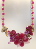 Flower Garden Necklace by Mary Lowe