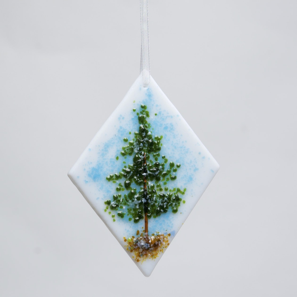 Evergreen Tree Ornament by DeMoss - © Blue Pomegranate Gallery