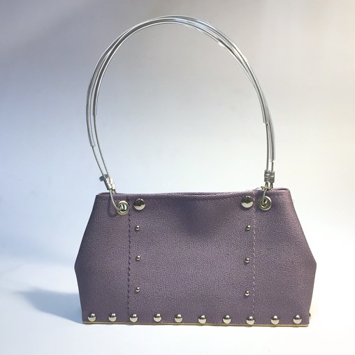 Lavender Shorty Handbag by Renee Sonnichsen