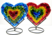 Mini Hearts in stand by Anne Nye