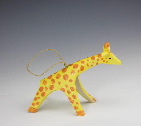Giraffe Ornament by Beth DiCara - © Blue Pomegranate Gallery