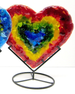Mini Hearts in stand by Anne Nye - © Blue Pomegranate Gallery