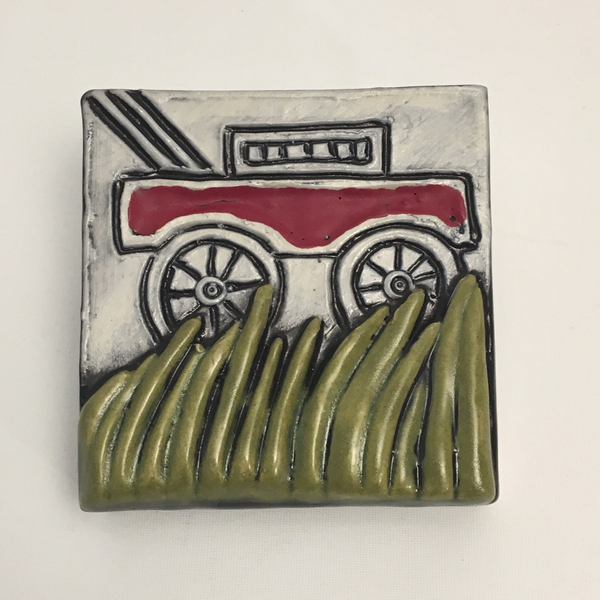 Mower Clique Tile by Ed and Kate Coleman - © Blue Pomegranate Gallery