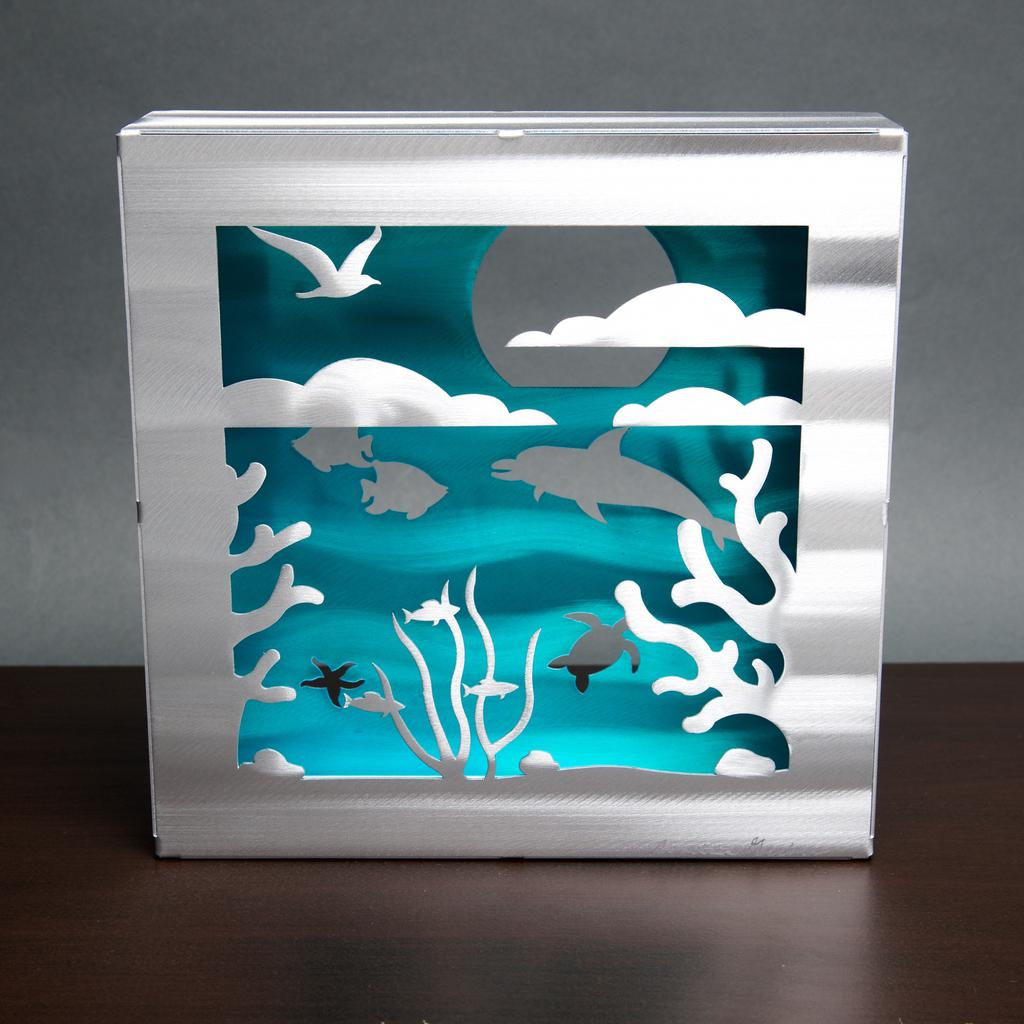 Ocean Box by Sondra Gerber - © Blue Pomegranate Gallery