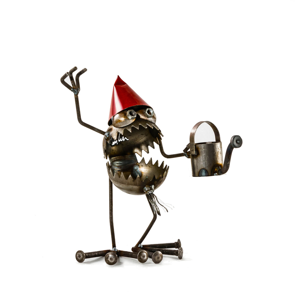 Gnome with watering can by Fred Conlon - © Blue Pomegranate Gallery