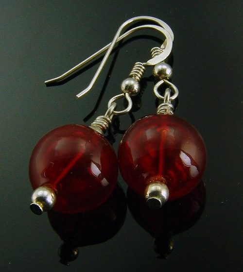 Bubble Earrings to match Trios by Charmaine Jackson - © Blue Pomegranate Gallery