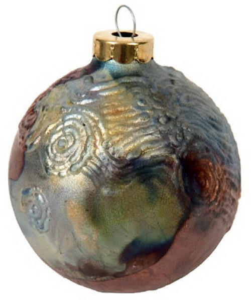 Round Starry Night Ornament by Davis *Last Chance Item - © Blue Pomegranate Gallery