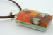 Day in the Village Pendant  by Mor
