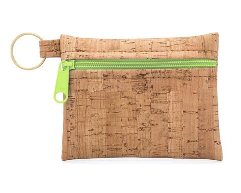 Be Organized Cork Zip Pouch Key Chain - Natalie DiBello - © Blue Pomegranate Gallery