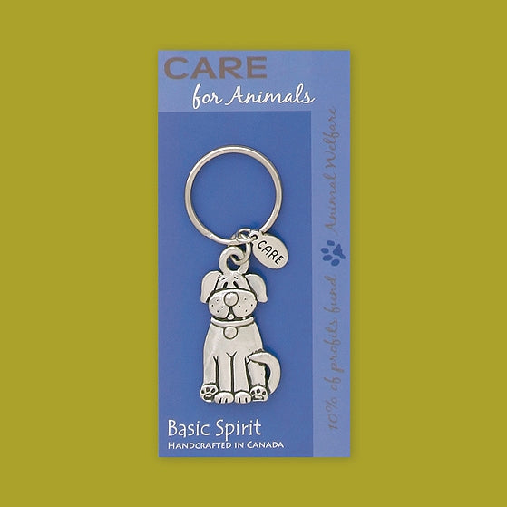 Dog Contribution Keychain by Bonnie Bond - © Blue Pomegranate Gallery