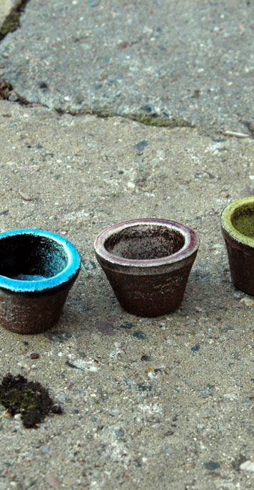 Fairy Pots, set of 2 by Jeremy Neff