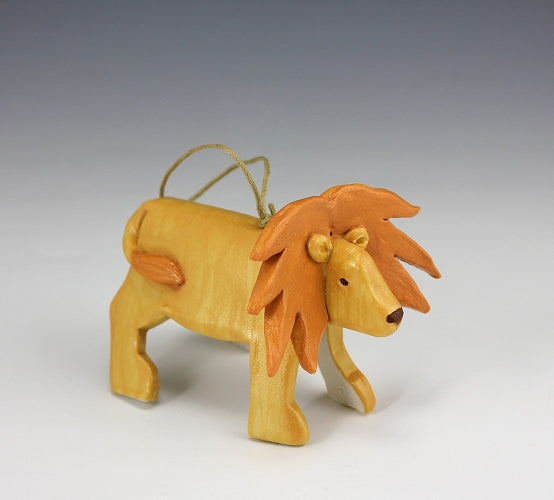 Lion Ornament by Beth DiCara - © Blue Pomegranate Gallery