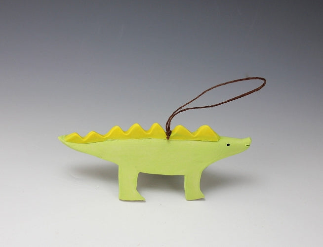 Stegosaurus Ornament by Beth DiCara - © Blue Pomegranate Gallery
