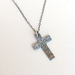 St. Silver Classic Cross Necklace by McQueen