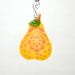 Pear Ornament by Denise Childs - © Blue Pomegranate Gallery