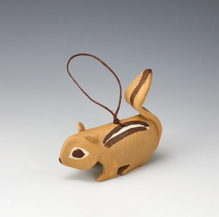 Chipmunk Ornament by Beth DiCara - © Blue Pomegranate Gallery
