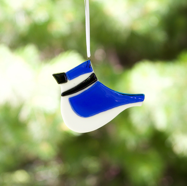 Blue Jay Sun Catcher, Ornament by Niven