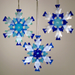 Snowflake Ornament/Sun Catcher by Charlotte Behrens - © Blue Pomegranate Gallery