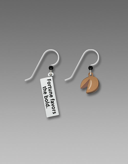 1964 Fortune Cookie Earrings by Barbara MacCambridge - © Blue Pomegranate Gallery