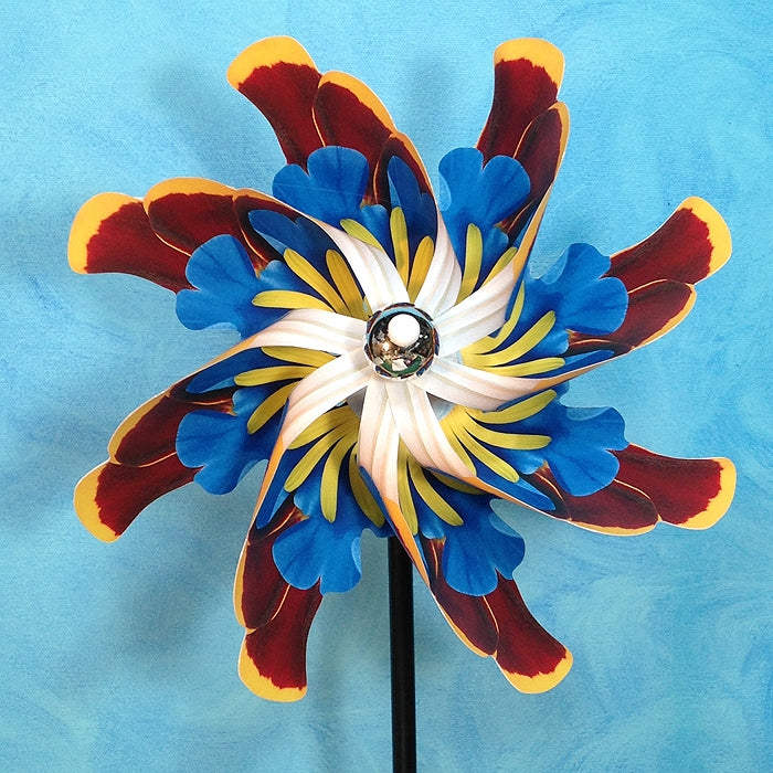 PA- Arizona Wildflowers Pinwheel Spinner Whirligig - © Blue Pomegranate Gallery