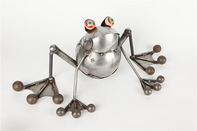 Toad Sitting by Rich Kolb - © Blue Pomegranate Gallery