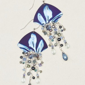 Blue Desert Springs Earrings by Holly Yashi - © Blue Pomegranate Gallery