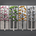 4 Seasons with Glass by Sondra Gerber - © Blue Pomegranate Gallery