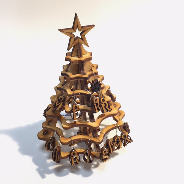 Mini Christmas Tree Kit by Marcus Wiliams - © Blue Pomegranate Gallery