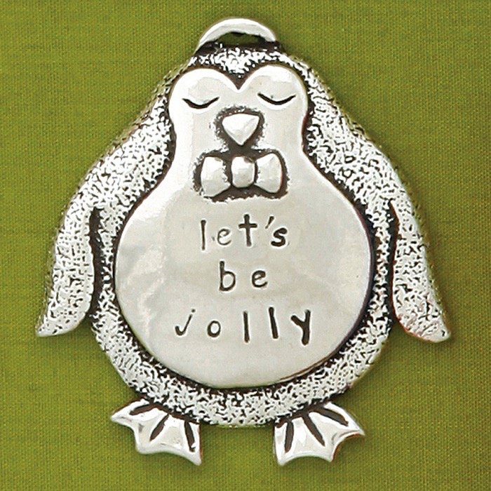 Penguin Jolly Ornament by Bonnie Bond - © Blue Pomegranate Gallery