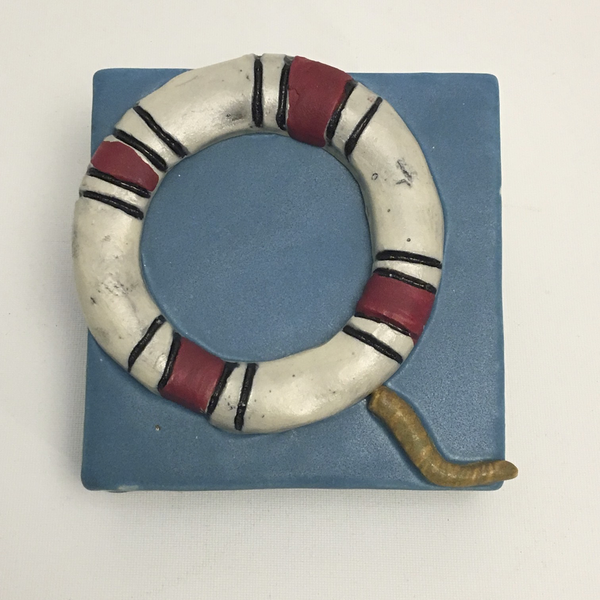 Life Saver Clique Tile by Ed and Kate Coleman - © Blue Pomegranate Gallery
