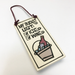 "Bottle Tag ""My bucket list'' by Michael Macone - © Blue Pomegranate Gallery"