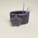Lavender 2 Porcelain Business Card Holder by Berls & McConnell