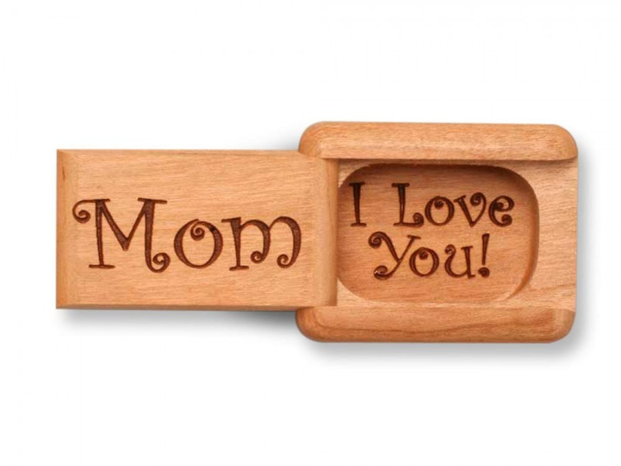 "Cherry Mom, I Love You Box by Michael Fisher 1/2 x 1-1/2 x 2"" - © Blue Pomegranate Gallery"