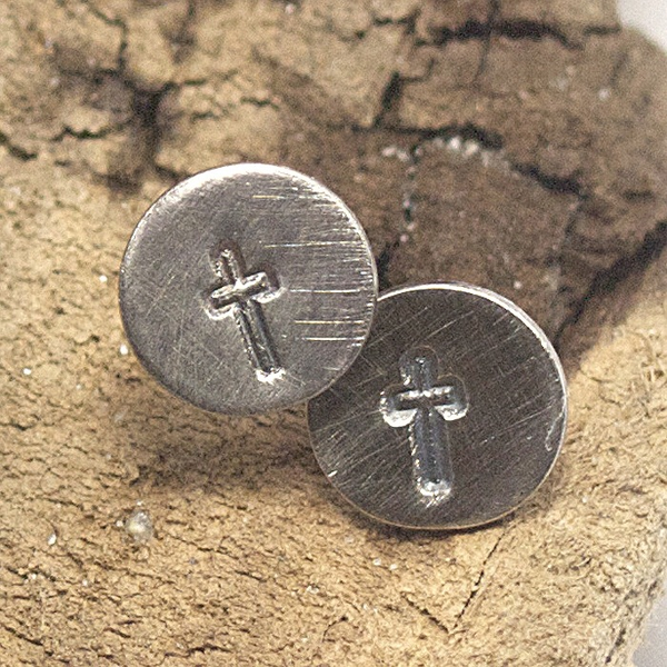 Cross Earrings by McQueen