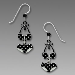 1997 Polka Dot Bikini Earrings by Barbara MacCambridge - © Blue Pomegranate Gallery
