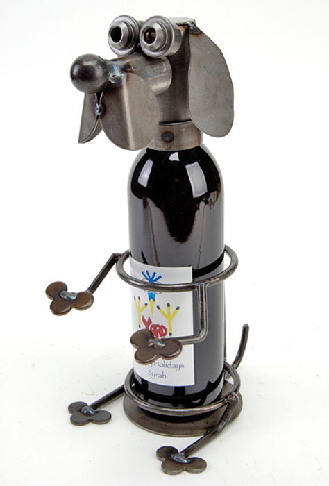 Hound Wine Caddy by Rich Kolb - © Blue Pomegranate Gallery