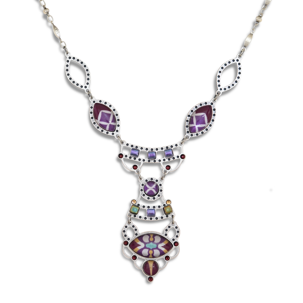 Twilight Mauve Necklace by Yoolie - © Blue Pomegranate Gallery