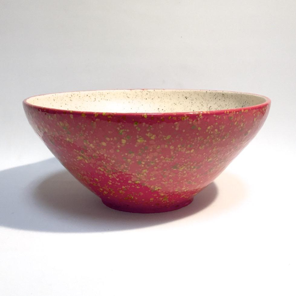 LG Food Safe Orange Speckle Bowl by Tim Axtman
