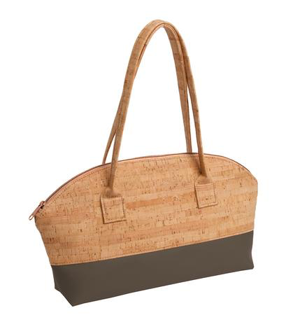 Mammoth Be Unique Rounded Cork Shoulder Bag - Natalie DiBello