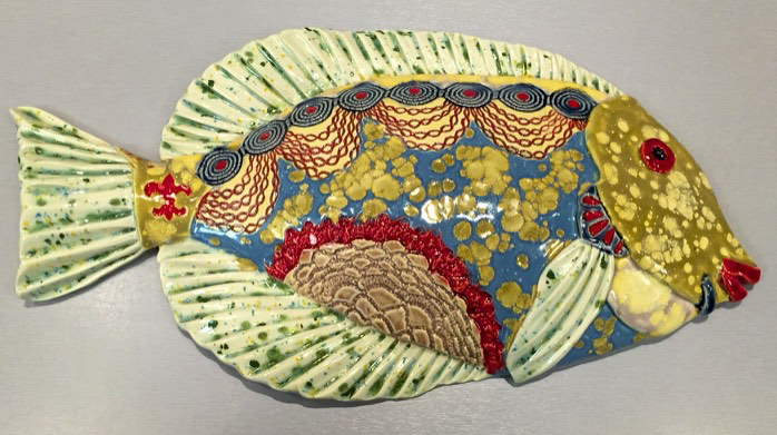 Tang Fish by Cathy Crain - © Blue Pomegranate Gallery