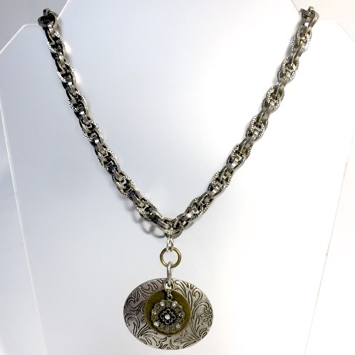 Janis Necklace by Stephanie Heller Durr - © Blue Pomegranate Gallery