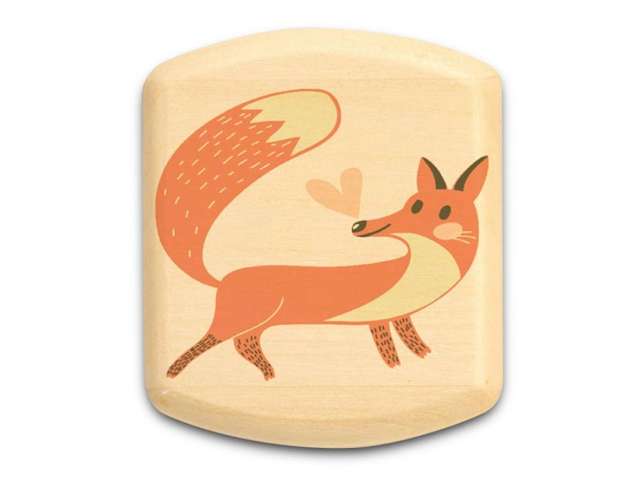 "Fox Box 1/2 x 2 x 2"" by Michael Fisher"