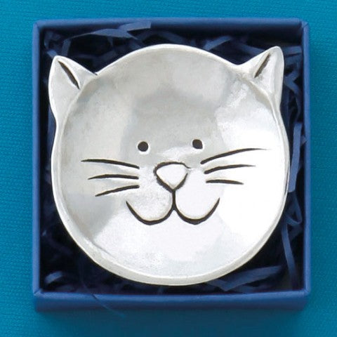 Cat Charm Bowl by Bonnie Bond - © Blue Pomegranate Gallery