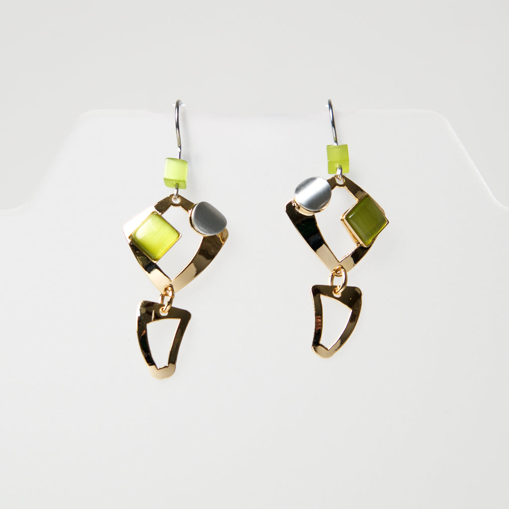 Hook Earrings AU234 by Christophe - © Blue Pomegranate Gallery