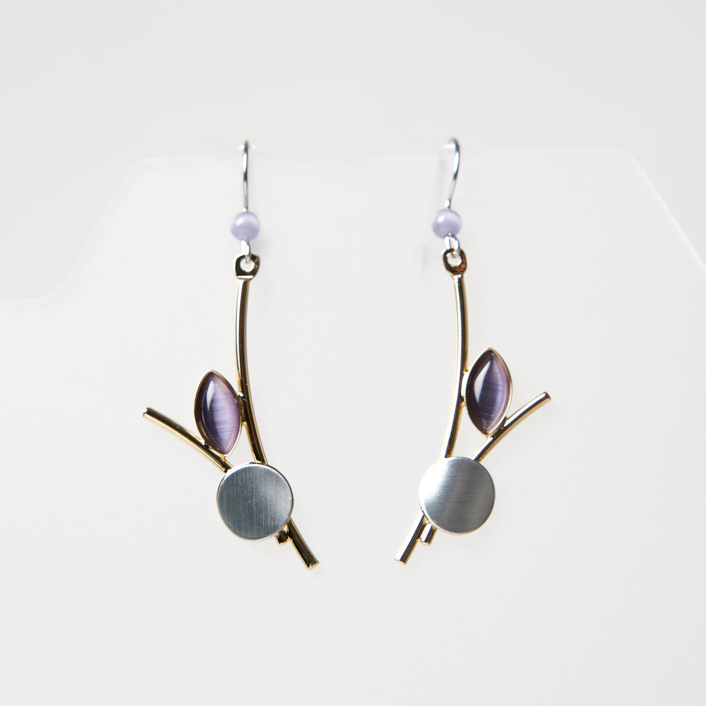 Hook Earrings CU133 by Christophe - © Blue Pomegranate Gallery